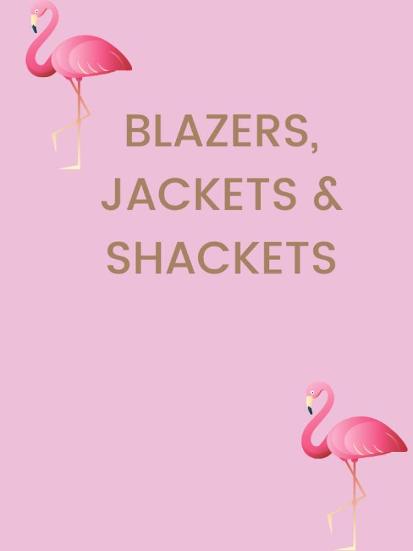BLAZERS  JACKETS