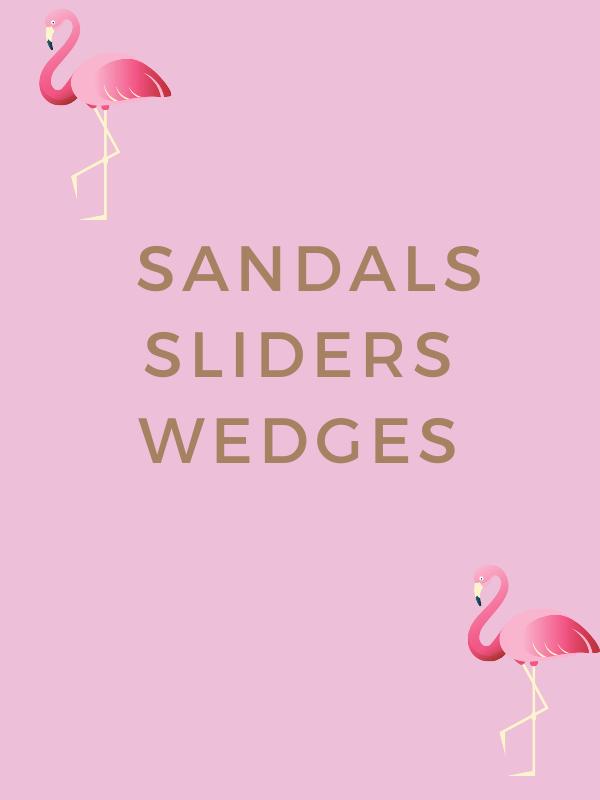 SANDALS, SLIDERS & WEDGES (4)