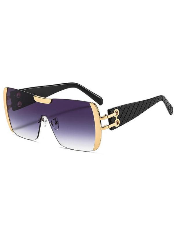Francine - Black Ombre Over Sized Sunglasses