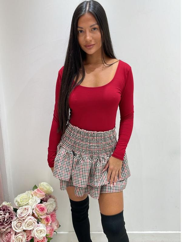 Raspberry Pink Animal Print Smock Dress